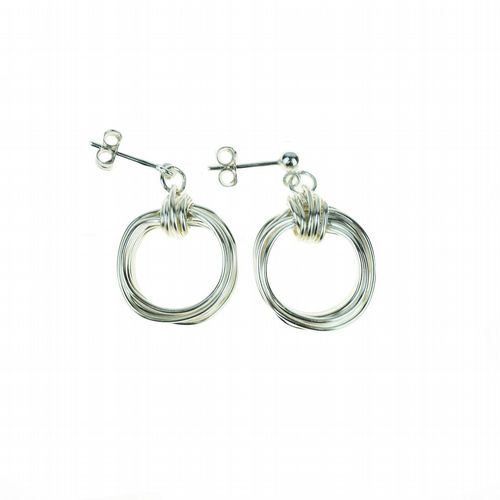Aphrodite Earrings - Silver